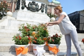 LADY OF BELGRADE<sup>®</sup> BAPTIZED ON ORANGE WEEK IN CITY OF BELGRADE
