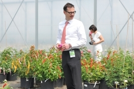 A VISIT FROM DUTCH AGRICULTURAL COUNSELLOR