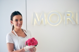 Moritz Ice made new ice cream flavour with PGR roses!