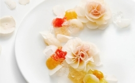 Exclusive Jordi Roca recipe with PGR edible roses